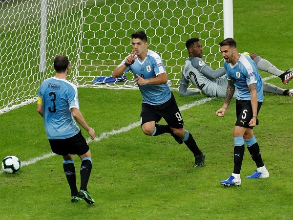 Uruguay beat Ecuador by 4-0 in Copa America 2019