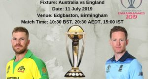 Australia vs England: 2019 world cup semi-final schedule, time, venue