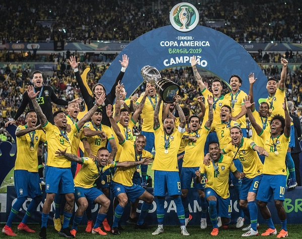 Brazil won Copa America 2019 defeating Peru in final by 3-1