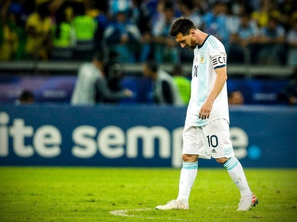 Heart break for Lionel Messi after Argentina lost 2019 Copa America semi-final against Brazil