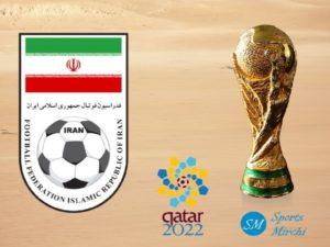 Iran football team at 2022 FIFA world cup