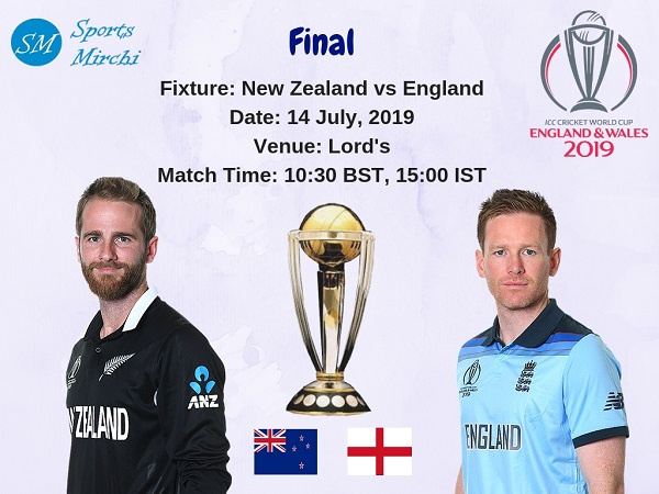 New Zealand vs England 2019 cricket world cup final match photo