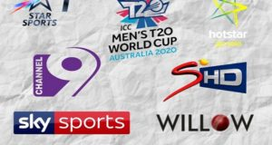 ICC T20 World Cup 2020 Broadcast, TV Channels List