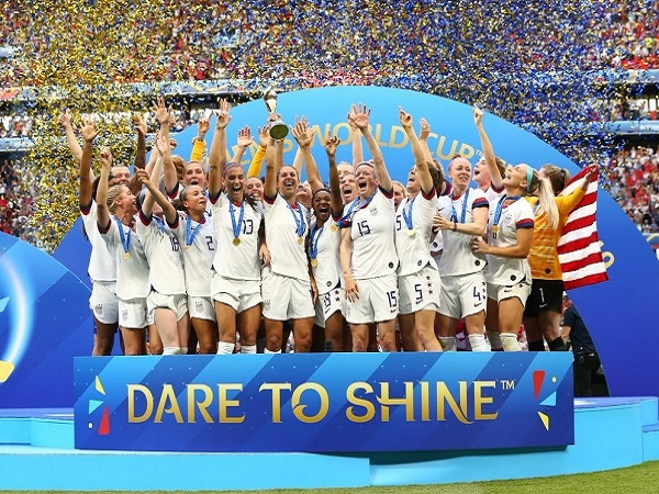 USA won 2019 FIFA Women's World Cup.