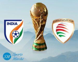India vs Oman FIFA World Cup Photo