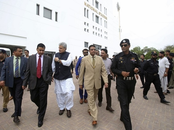 Sri Lanka security delegation happy with arrangements in Pakistan for test cricket series in 2019
