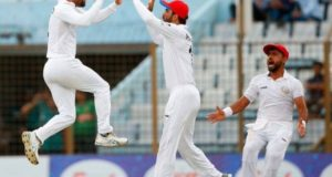 Afghanistan beat Bangladesh to win 2nd test in their 3rd test