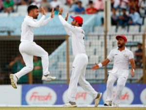 Afghanistan beat Bangladesh by 224 runs to win second test in their cricket history