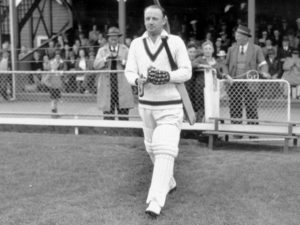 Don Bradman cricket player from Australia