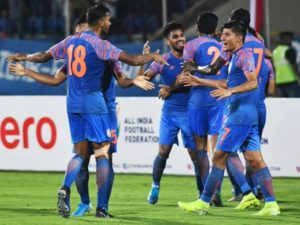 India vs Qatar 2022 world cup qualifier match ends at goal less draw