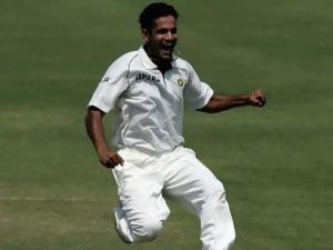 Irfan Pathan took hat-trick against Pakistan in test match at Karachi in 2006