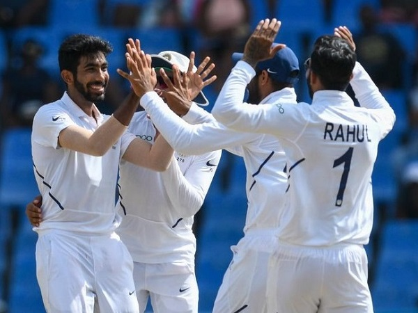 Jasprit Bumrah takes test cricket hat-trick against West Indies at Sabina Park