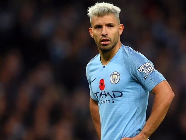 Sergio Aguero from Manchester City