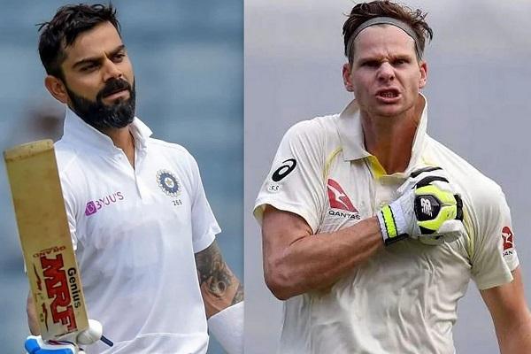 Virat Kohli vs Steve Smith photo