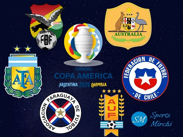 Copa America 2020 Group-A Teams
