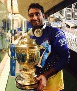 Ambati Rayudu Chennai Super Kings Photo