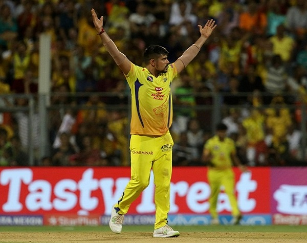 Karn Sharma Chennai Super Kings Photo