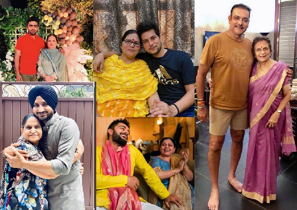 Cricketers celebrate mother's day 2020
