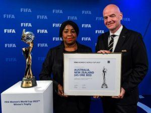 Australia-New Zealand to host FIFA women's world cup 2023