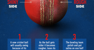 Why Saliva is the key to swing bowling