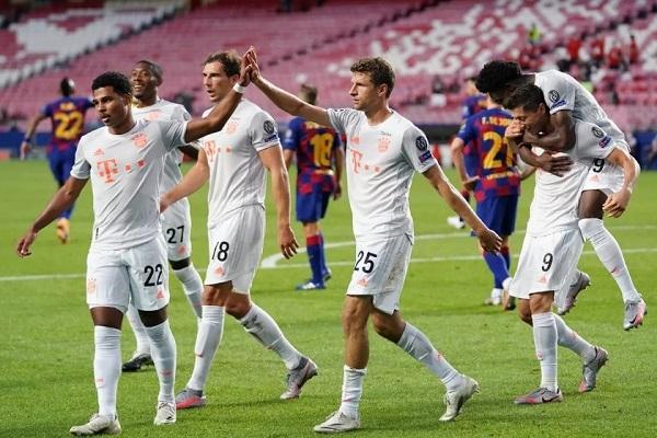 Bayern Munich beat Barcelona by 8-2 Champions League quarterfinal