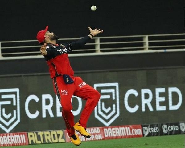 Kohli dropped KL Rahul catch twice in IPL 2020