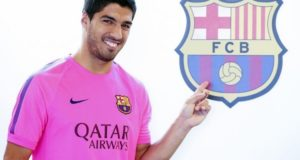 Barcelona star Luis Suarez joins Atletico Madrid