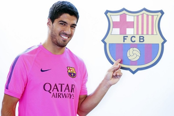 Luis Suarez played 6 seasons for Barcelona before joining Atletico Madrid