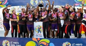 Trinbago Knight Riders seal 4th CPL title