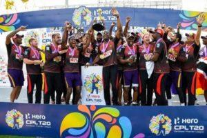 Trinbago Knight Riders won CPL 2020