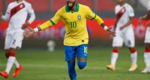 Neymar becomes second highest goal scorer for Brazil