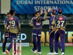 Kolkata Knight Riders beat Rajasthan Royals in IPL 2020 match-12 at Dubai