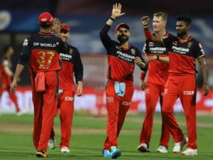 RCB defeated KKR in match-28 of Dream11 IPL 2020