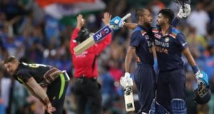 Hardik Pandya hits 2 sixes in last over as India beat Australia in 2nd T20 t20 win series