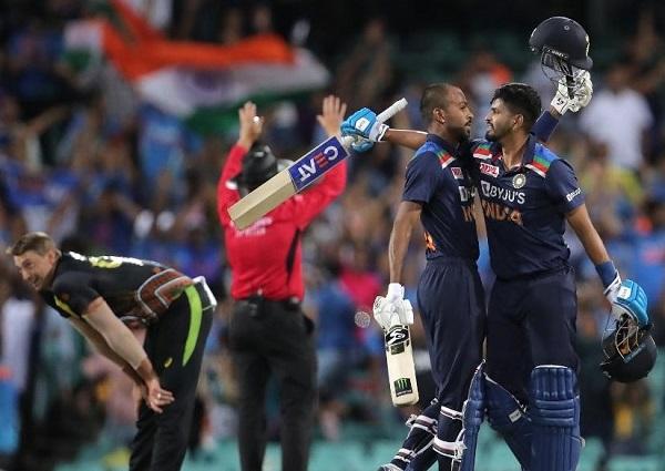 India won T20 series against Australia in 2020