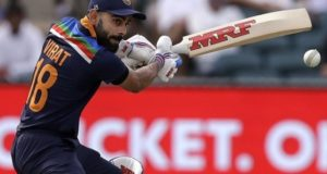 Virat Kohli reaches to record 12000 ODI runs as India beat Australia in 3rd match