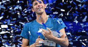 Australia's Alexei Popyrin wins his first ATP title in Singapore