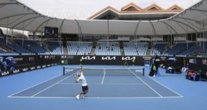 Australian Open 2021 goes quiet as fans don't come due to lockdown