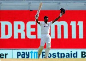 Ravichandran Ashwin scored hundred against England in Chennai