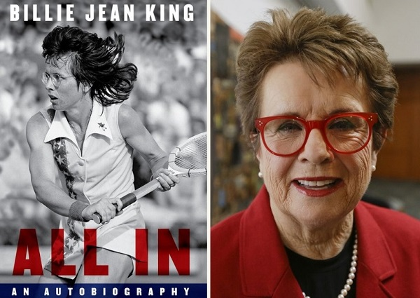 All In An Autobiography by Billie Jean King