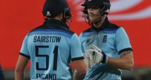 Bairstow, Stokes thrashed Indian bowling to level ODI series 1-1