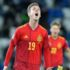Spain beat Georgia 2-1 in last few minutes of 2022 world cup qualifier