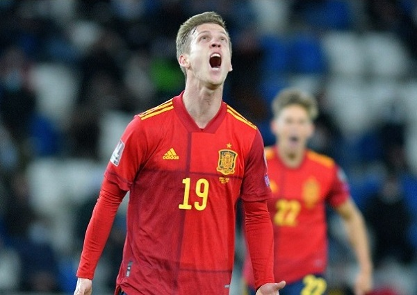 Dani Olmo scored match winning goal for Spain against Georgia in FIFA world cup 2022 qualifier