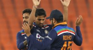 Bhuvneshwar Kumar shines as India beat England in 5th T20 to win series