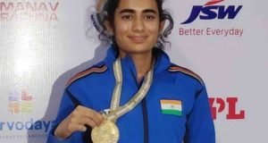 Yashaswini Deswal wins India's 1st gold medal at Shooting World Cup