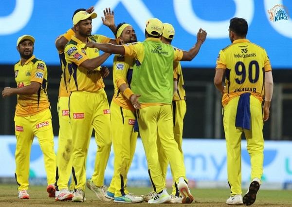 Chennai Super Kings beat KKR by 18 runs in IPL 14