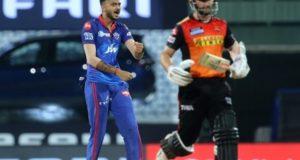 IPL 2021: Delhi Capitals beat Sunrisers Hyderabad in super over