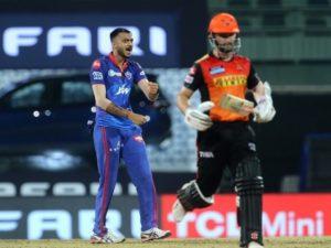 Delhi Capitals win super over against SRH in IPL 2021
