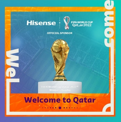 Hisense official sponsor of FIFA World Cup 2022 Qatar