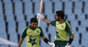 Babar, Rizwan thrashed South Africa in record T20I chase as Pakistan win series